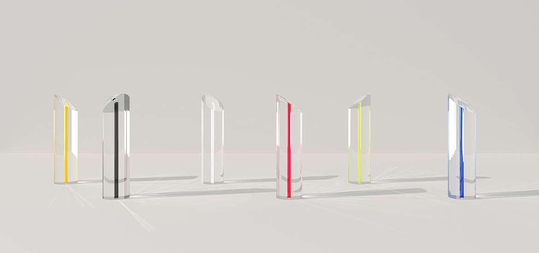 John Pawson Designs Fashion Awards Trophies From Swarovski Crystal