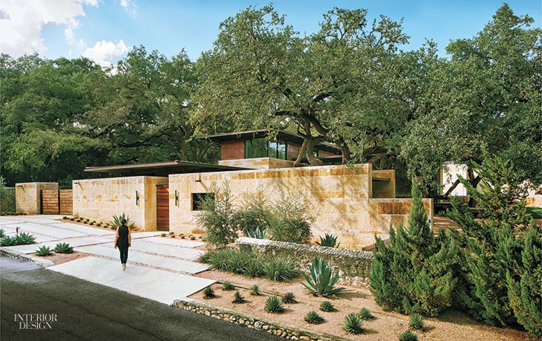 . San Antonio House by Lake Flato Architects Exemplifies Indoor