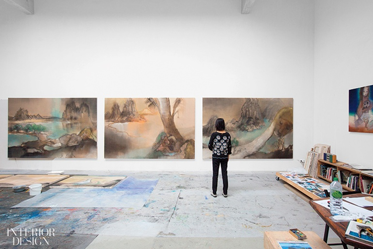 Peek Inside the Spaces Where Four Artists Live Work and Create