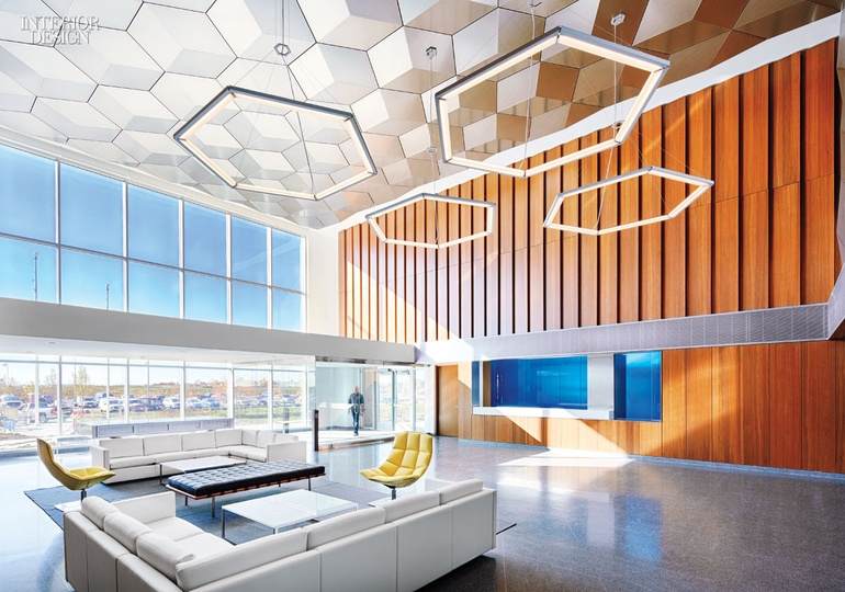 Bold Geometric Forms Take Center Stage In These 6 Forward Thinking Offices