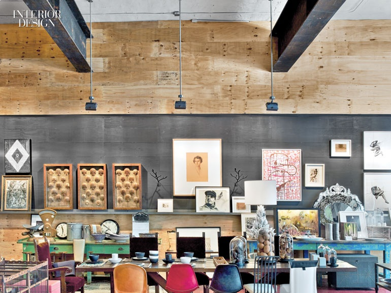 Mark zeff converts a 1920 dumbo warehouse into a creative studio and store