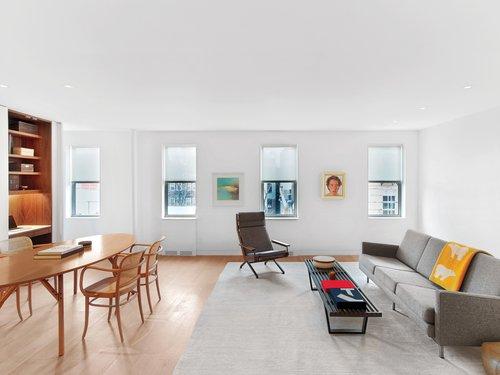 Messana O Rorke Combines Two West Village Apartments Into One Minimalist Home Interior Design Magazine