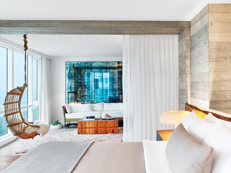Meyer Davis Craft Serene Presidential Suite For 1 Hotel South Beach Interior Design Magazine