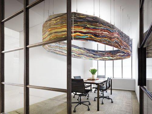 Morris Adjmiu0027s Office Doubles As A Rotating Art Gallery