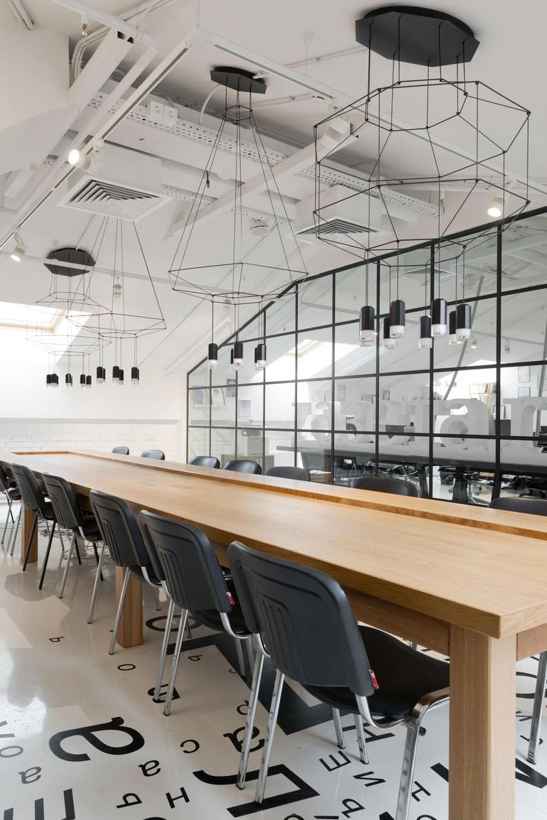 Perfect Gazeta.ru Office By Nefa Architects. Photography By Ilya Ivanov.