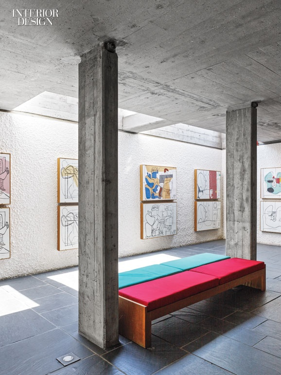 Zurichs Pavillon Le Corbusier Serves As A Monument To Pioneer Of Modern Architecture