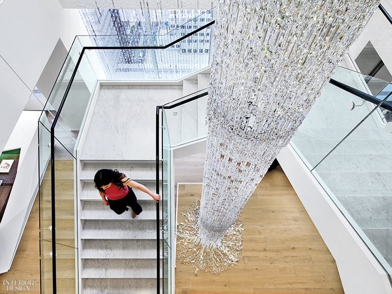 can an all glass fice building really be considered interior designer fees new york Swarovski reaches shiny and new heights thanks to Perkins + Will and  Valerie Pasquiou