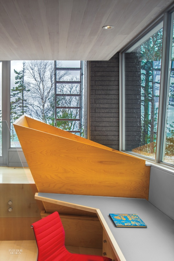 upscale home office peter bohlin on designing the perfect house