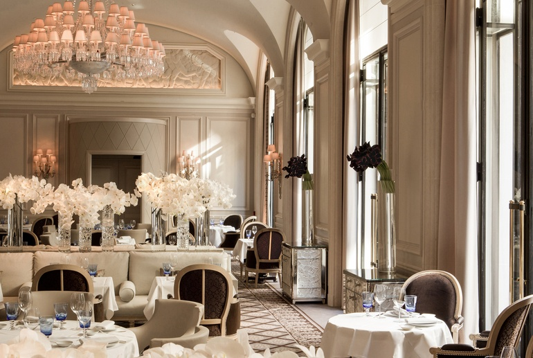 Pierre Yves Rochon Ranked 11 Overseas Work 90 Project Le George Location Paris Image Courtesy Of