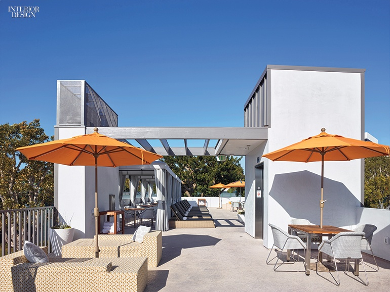 Studio Antares Kicks Off Summer With a Club Pool House in L.A. on barn studio designs, garage studio designs, studio cabin designs, bedroom studio designs, garden studio designs, backyard studio designs,