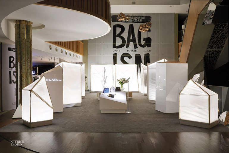 Firm prism design consulting shanghai co project sugar lady site shanghai standout a two week pop up wore its temporary nature on its sleeve