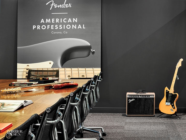 Fantastic Fender Rocks Out At New Los Angeles Headquarters By Rapt Download Free Architecture Designs Grimeyleaguecom