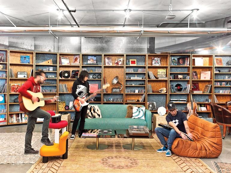 Music room office design