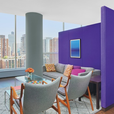 RDK Design Updates a Chicago High Rise Apartment. Residential   Interior Design Projects
