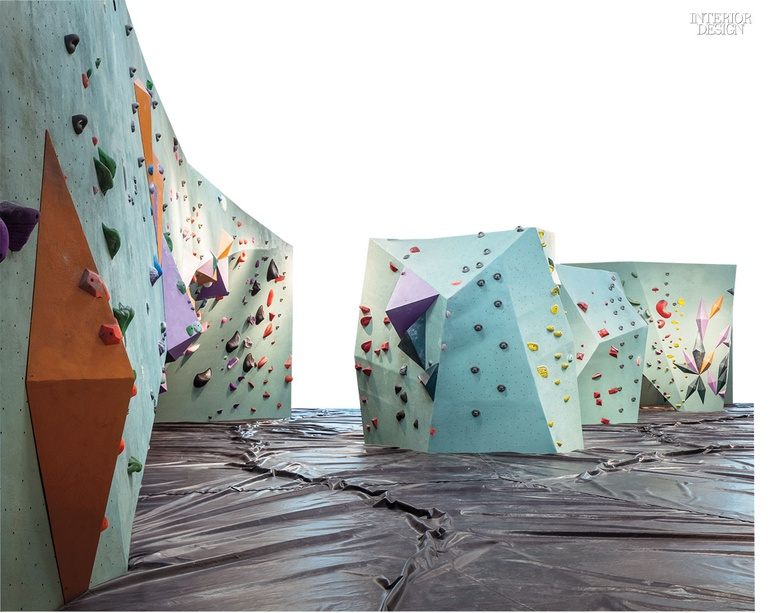 Firm Dylan Johnson Associates Architects And Lilianne Steckel Interior Design Project Austin Bouldering Location TX