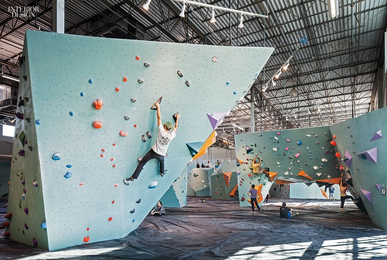austin bouldering project brings a friendly industrial climbing gym