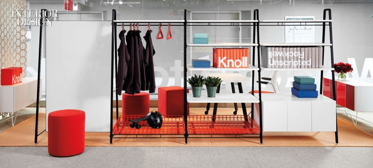 Furniture Design Hall Of Fame rockwell group debuts mix-and-match office furniture line for knoll