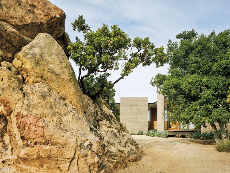 Sant Architects Changes The Narrative For A Boulder Strewn Project In  Topanga, California