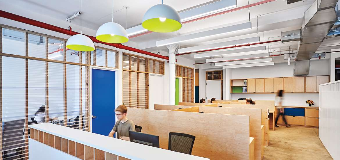 Rebuilding Together NYC Upgrades To A New Office By Shakespeare Gordon Vlado Architects