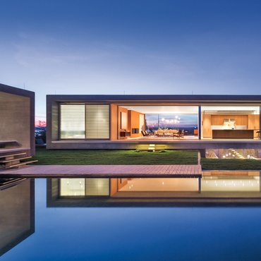 Residential interior design projects for Beach house design awards