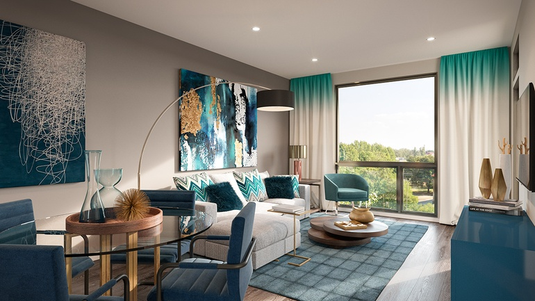 Style Interior Design Ranked 79 Project CityPlace Location Overland Park KS Rendering Courtesy Of Virtual