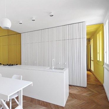 Tissellistudioarchitetti Brings Light Inside Italian Duplex Apartment