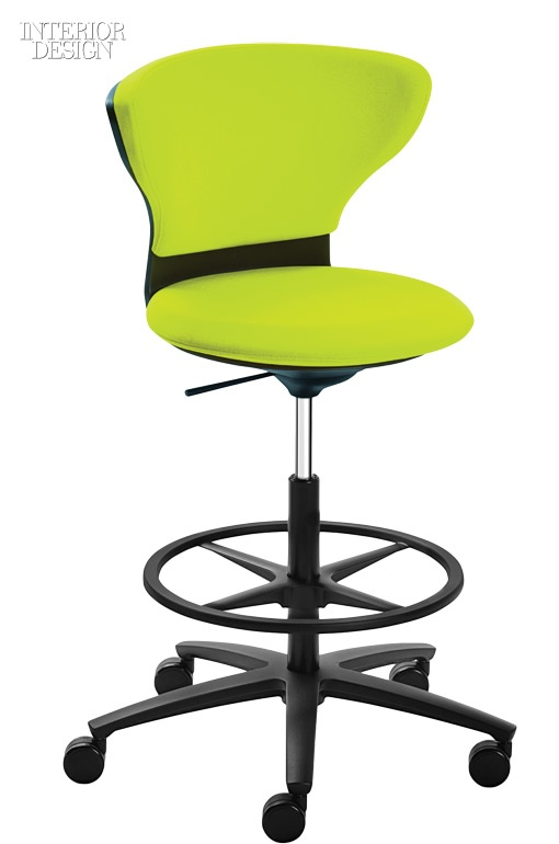 Judith Dauru0027s TurnAround Counter Height Task Chair With Upholstered Plastic  Shell And Optional Aluminum Base By Inscape.