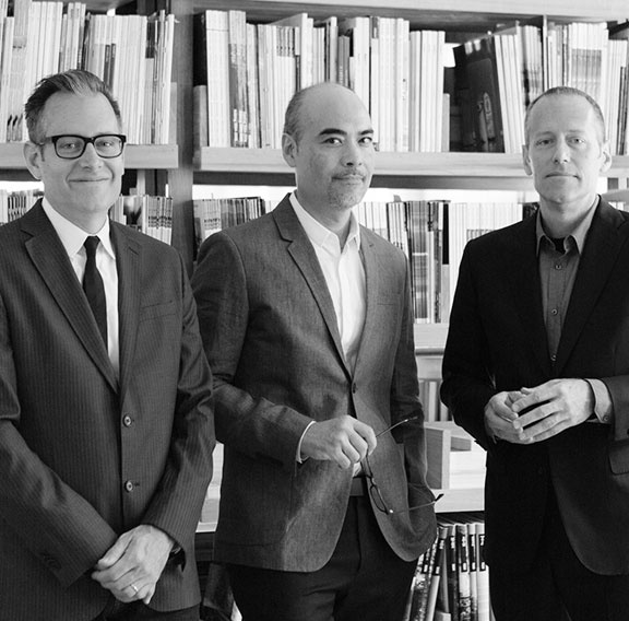 LTL Architects (Paul Lewis, Marc Tsurumaki, and David J. Lewis)