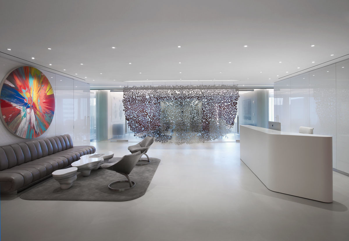 The Reception Area Of EnTrust Capitalu0027s NYC Headquarters, Designed By Pratt  Legends Honoree William T. Georgis And Gensler. Photography By Eric Laignel.