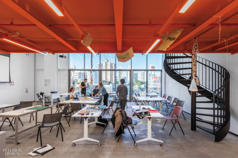 British School Of Creative Arts By Form Bureau Defies Classroom Delectable Universities With Interior Design Programs Model