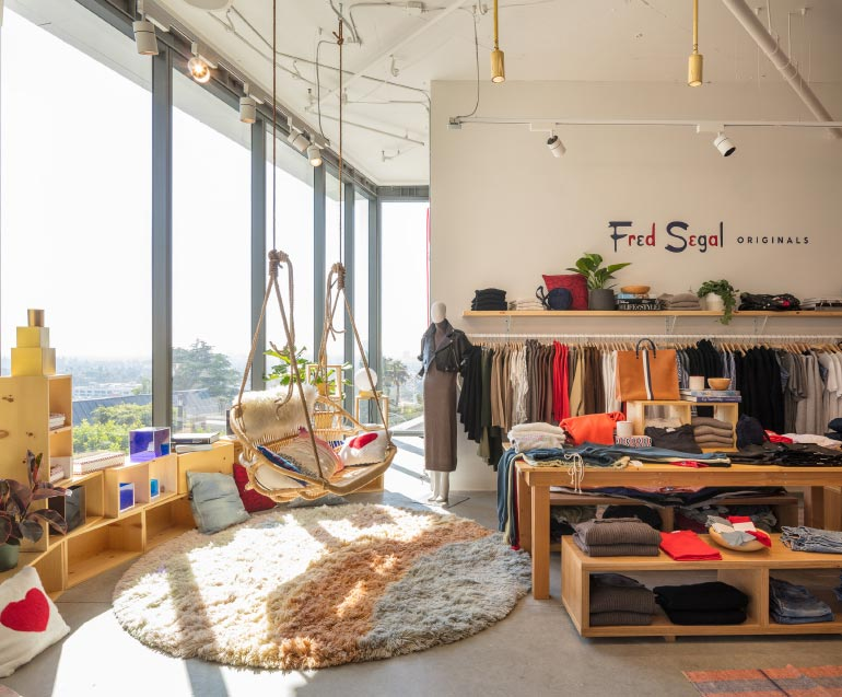 Fred Segal 39 S Sunset Strip Boutique By Brand Studio