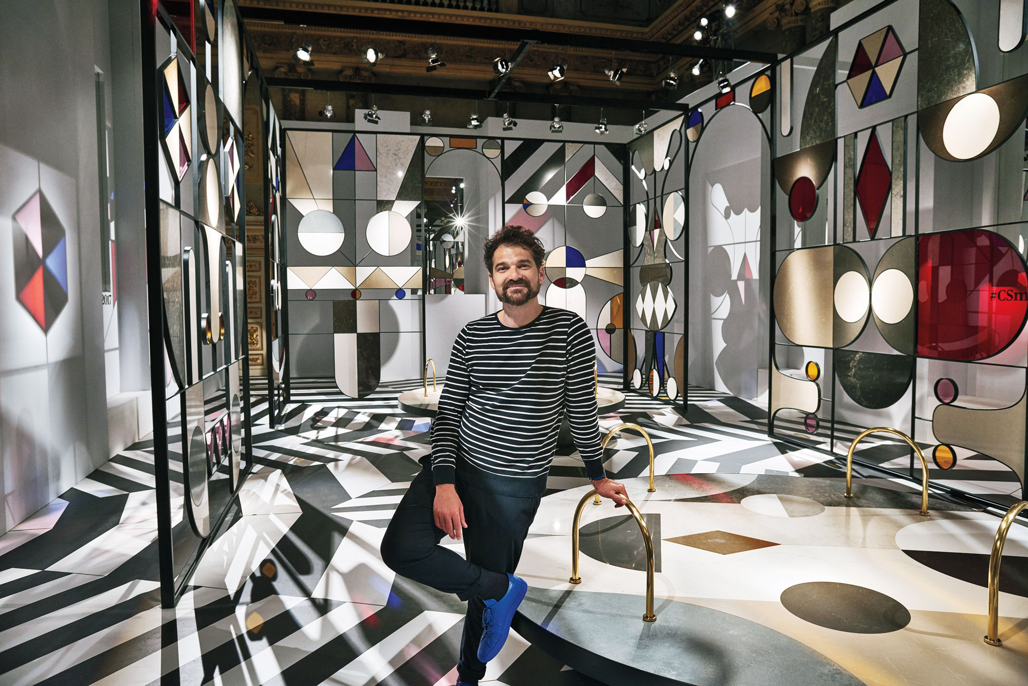 jaime hayon creates a kaleidoscopic world with his pencil. Black Bedroom Furniture Sets. Home Design Ideas