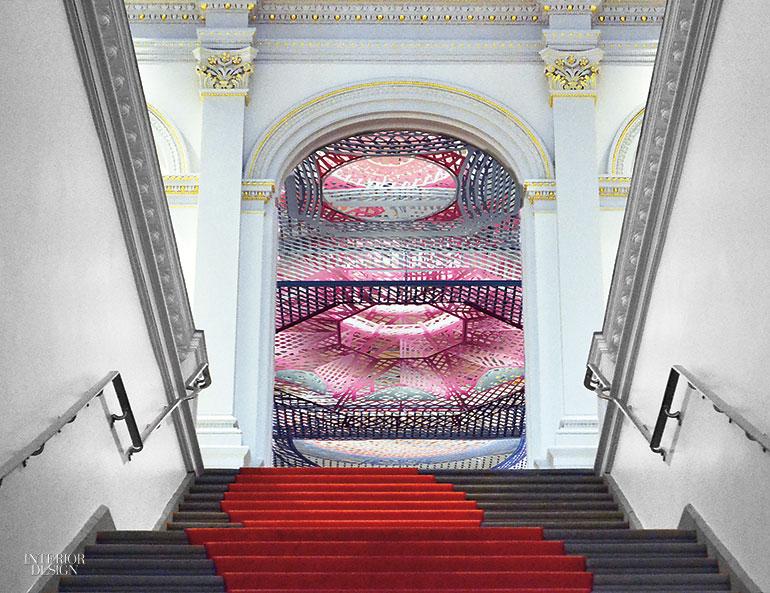 Freelandbuck Digitally Fabricates Historic Ceilings At
