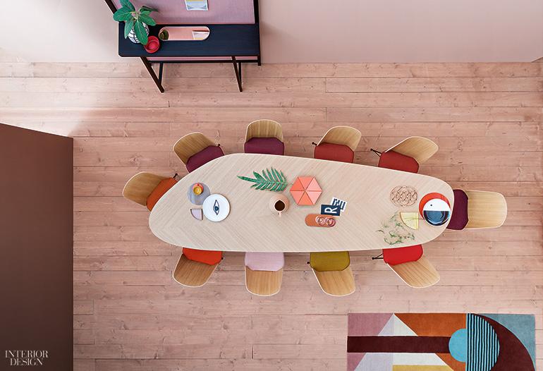 Garca cumini imbues zanotta tables with sartorial sensibility keyboard keysfo Images