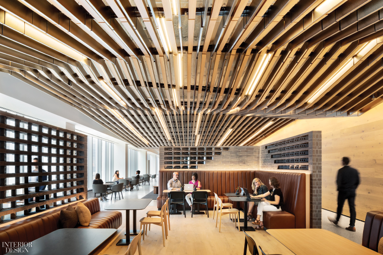 Hyatt Global Headquarters By Gensler 2017 Best Of Year Winner For Large Corporate Office Interior Design Magazine