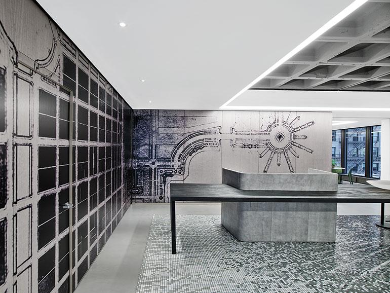 new iida headquarters by gensler thinks big chicago scale. Black Bedroom Furniture Sets. Home Design Ideas