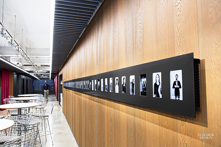 LED Screens Introduce The Staff. Image Courtesy Of Gensler.