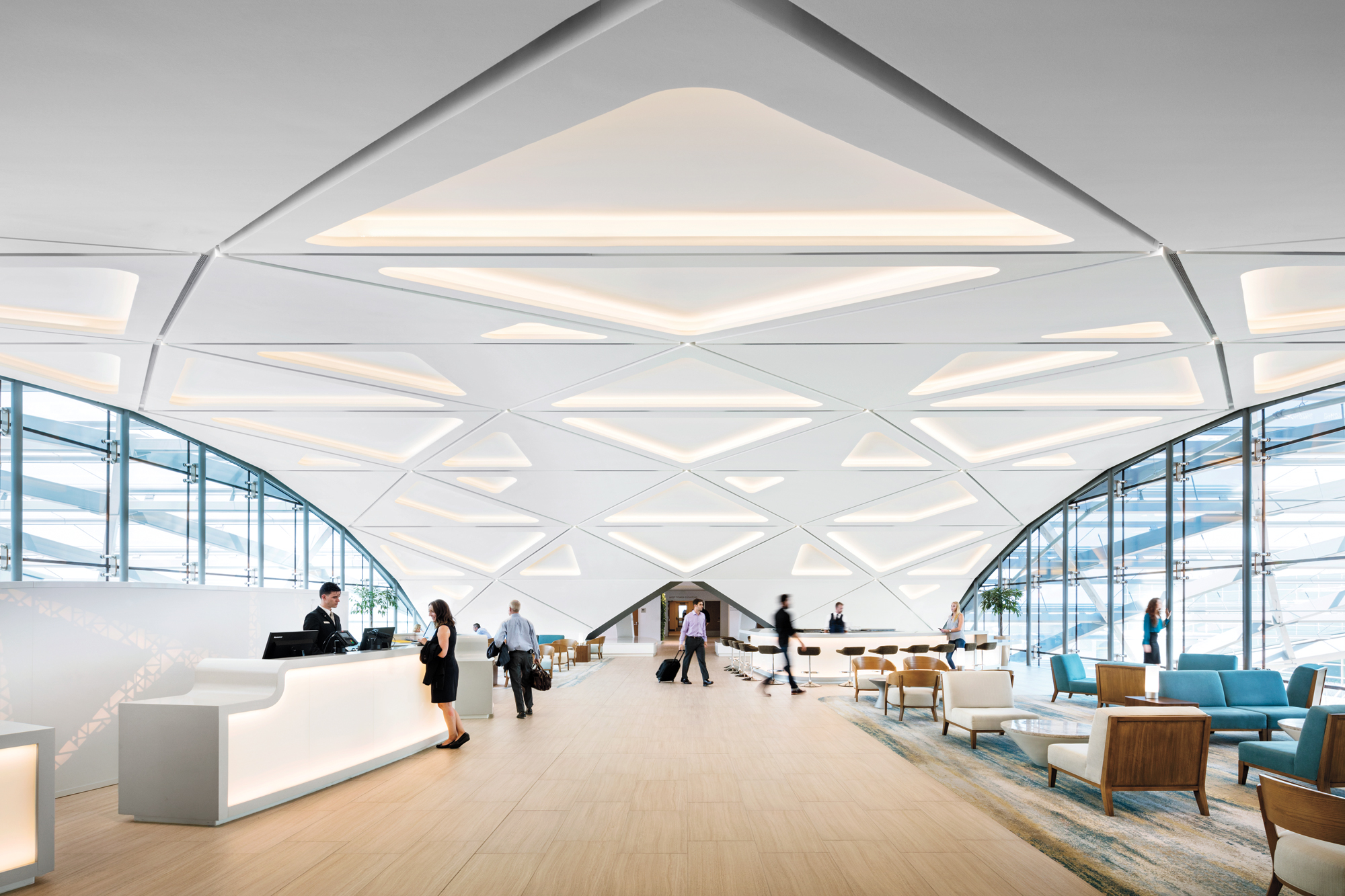 Westin Denver International Airport By Gensler 2016 Best Of Year Winner For Transportation