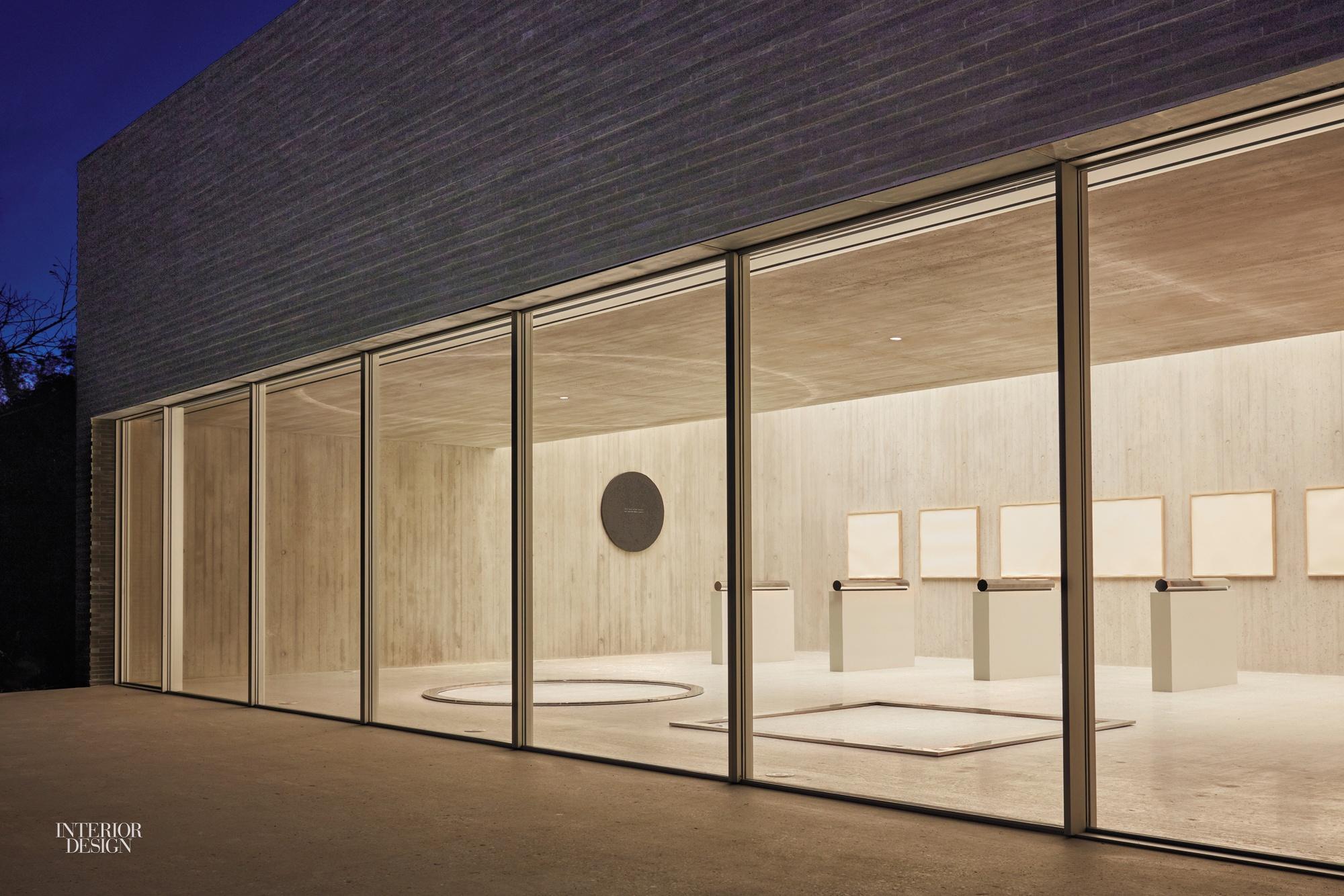 Gluckman Tang Architects Designs Artful Walter De Maria Pavilion in ...