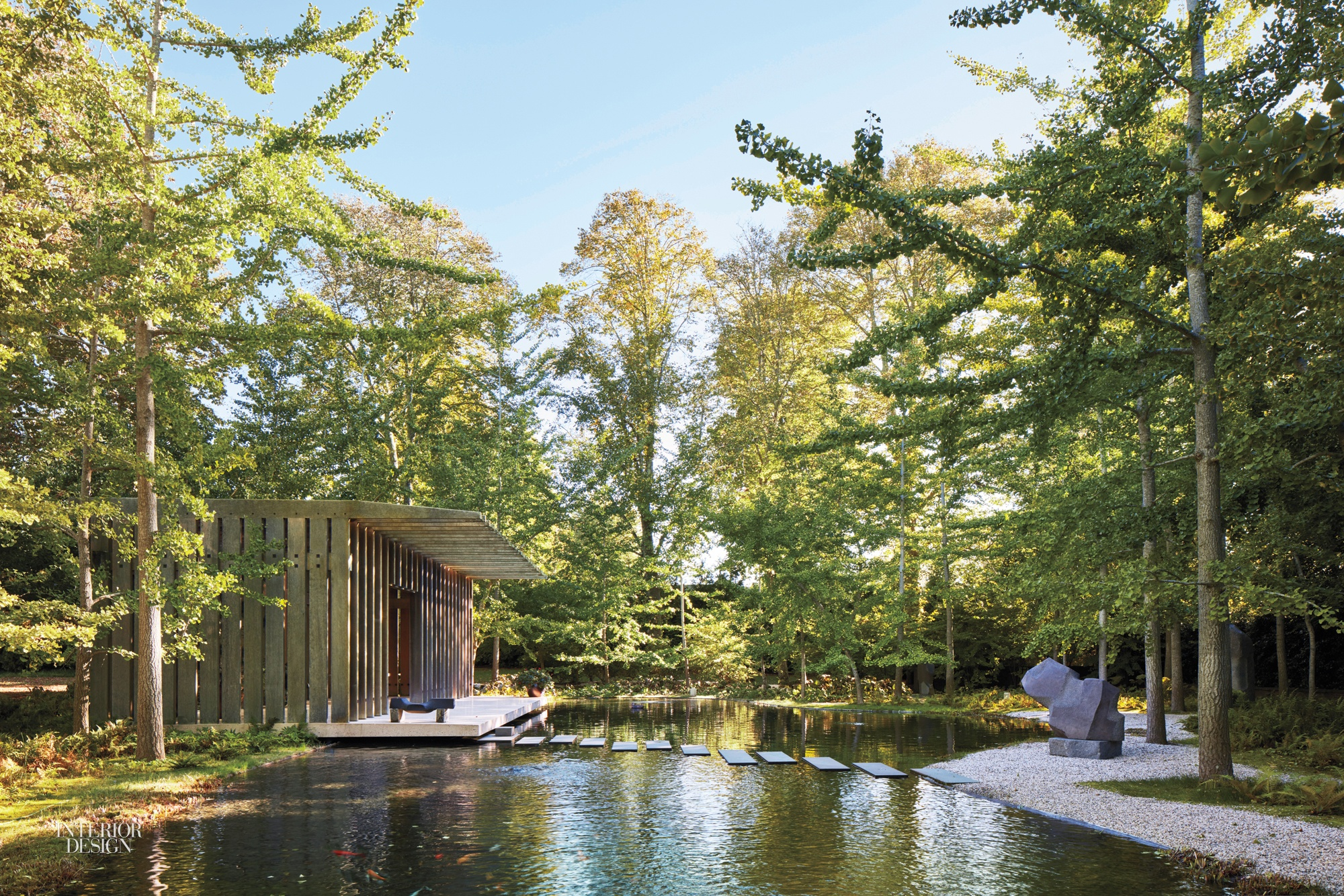A Noguchi Viewing Pavilion in the Hamptons Takes Cues from Japan's Ise Grand Shrine
