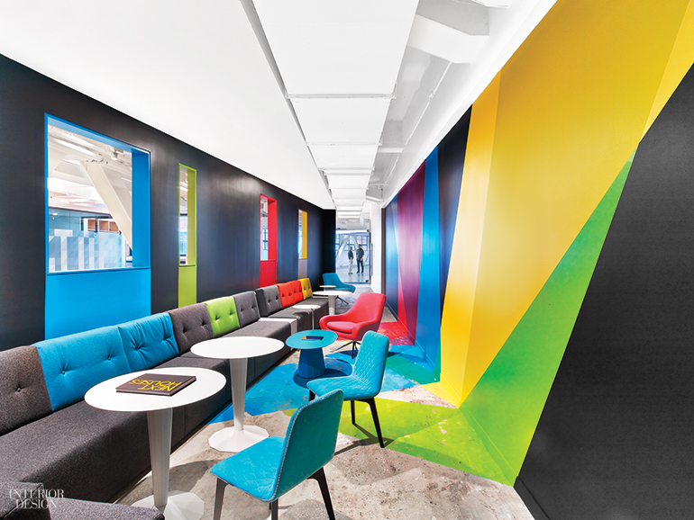 Google S Nyc Office By Interior Architects Has Eye Catching Features At Every Turn