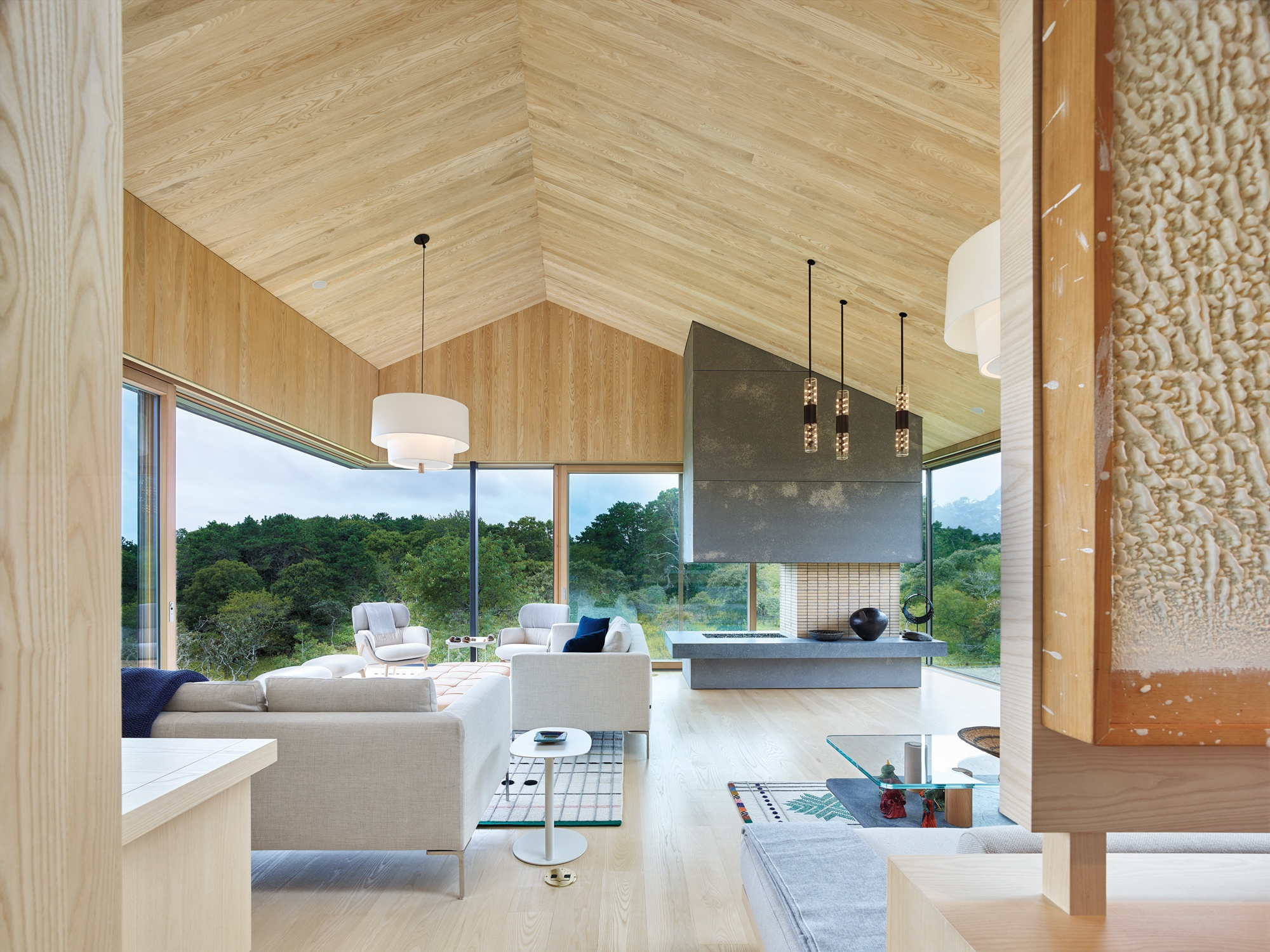 In Martha S Vineyard Gray Organschi And Aaron Schiller Meticulously Craft A Family Home