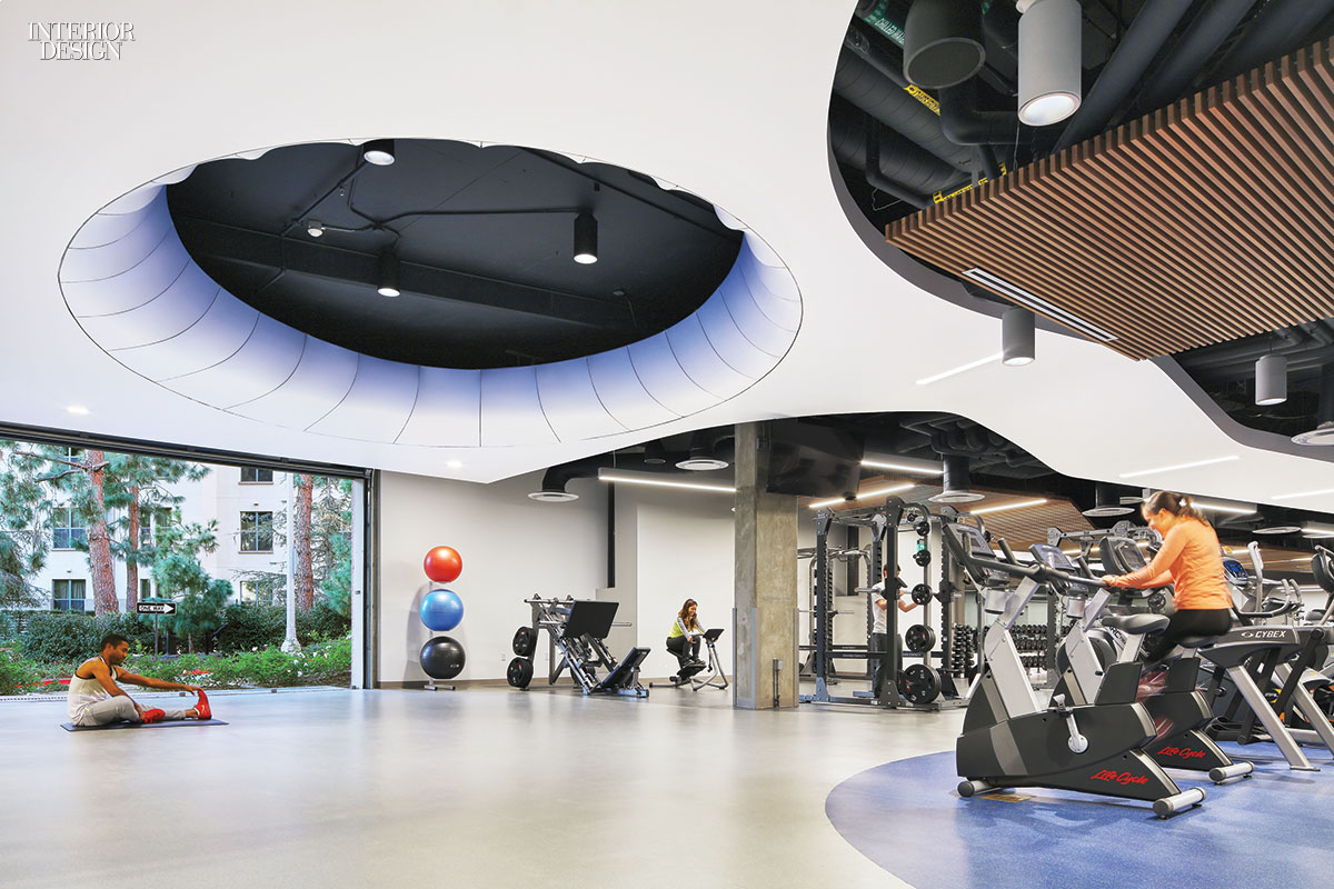 John Friedman Alice Kimm Architects Converts UCLA Garage Into Airy Fitness  Center