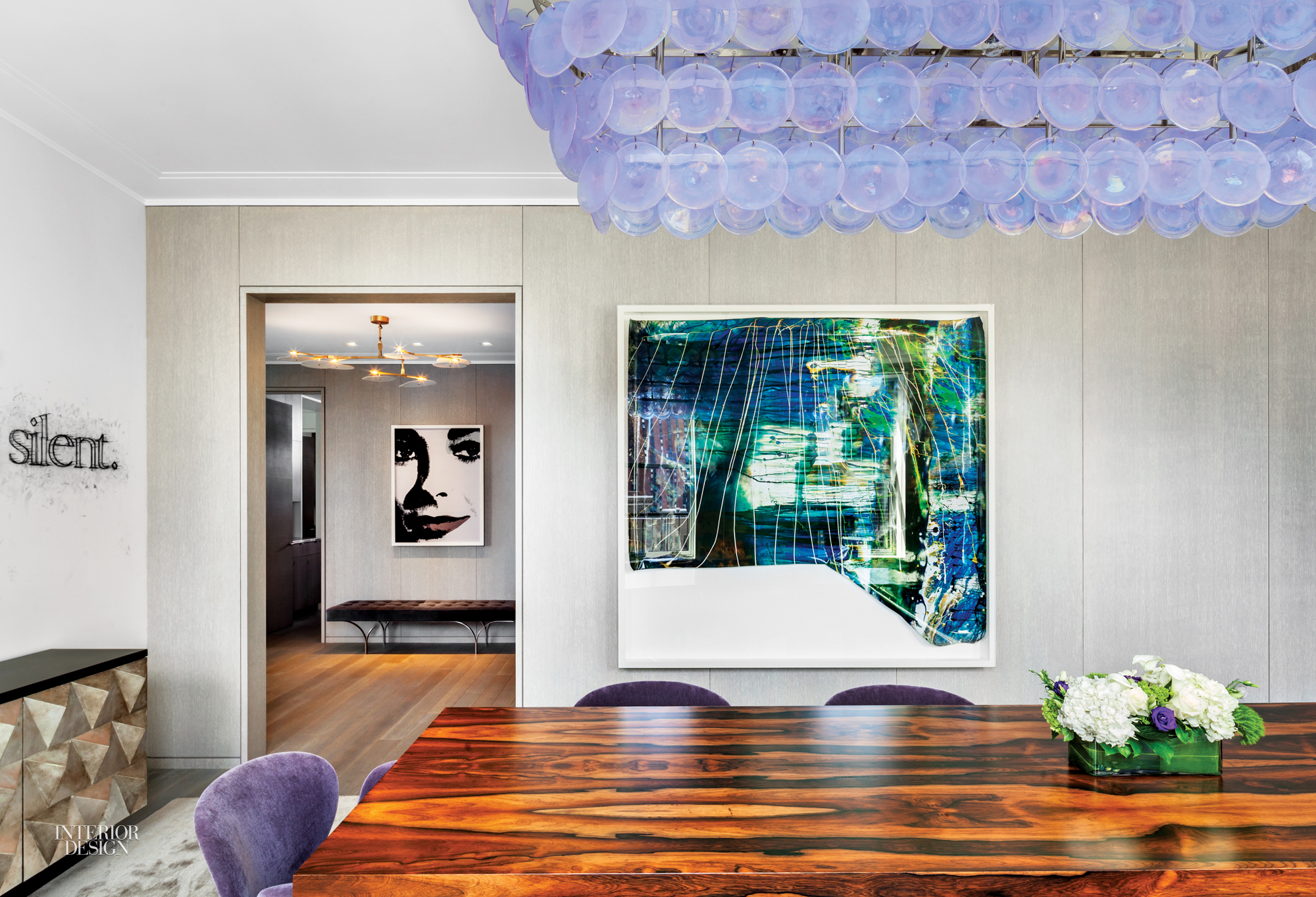 An Art Filled NYC Duplex By Steven Harris And Lucien Rees Roberts