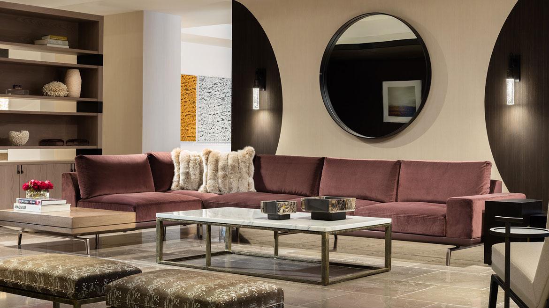 holly hunt 2016 showroom tour. Black Bedroom Furniture Sets. Home Design Ideas