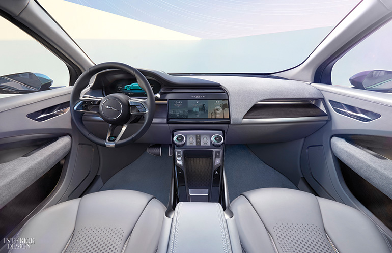 Electric Jaguar I Pace Offers Roomy Interior