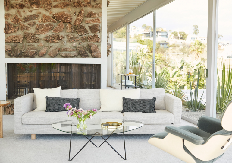 Design Within Reach Furnishes Stahl House With 2018 Collection