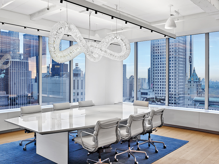 85d9872263a4 Perkins + Will and Valerie Pasquiou Dress Up Swarovski s New York Office