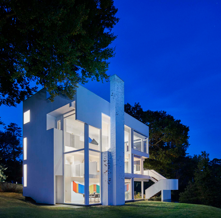 Richard Meier Reflects on the 50th Anniversary of Smith House – Richard Meier Smith House Floor Plans