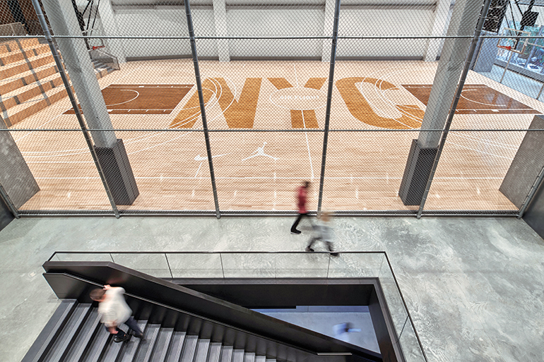 7c58d5eb528f Nike Ups Its Street Cred in NYC With a New Office by Studios Architecture